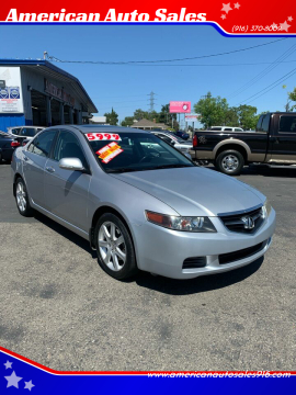 2004 Acura TSX for sale at American Auto Sales in Sacramento CA