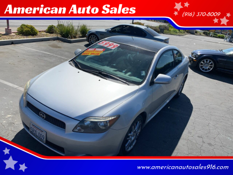 2006 Scion tC for sale at American Auto Sales in Sacramento CA