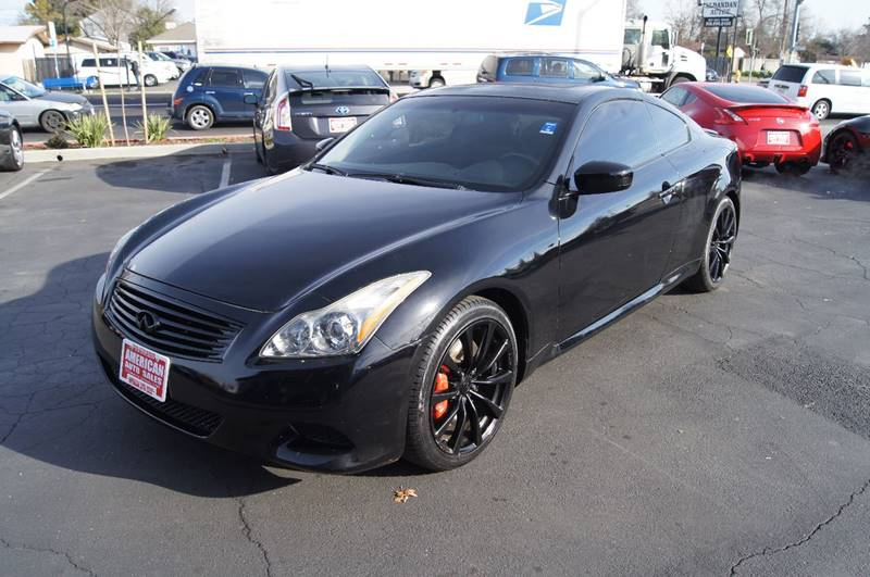 2010 infiniti g37 coupe sport in sacramento ca american. Black Bedroom Furniture Sets. Home Design Ideas