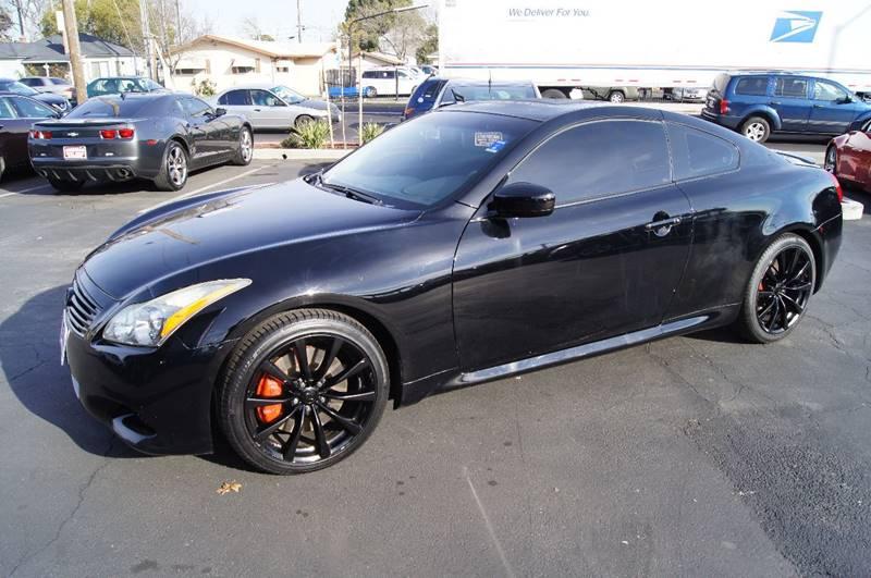 2010 infiniti g37 coupe sport in sacramento ca american auto sales. Black Bedroom Furniture Sets. Home Design Ideas