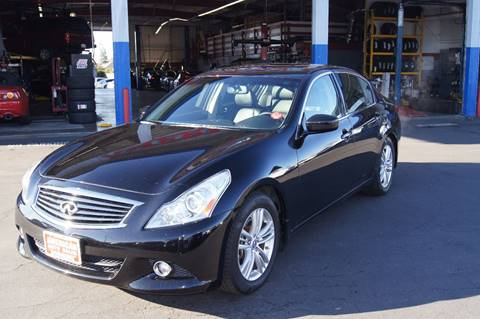 2013 Infiniti G37 Sedan for sale at American Auto Sales in Sacramento CA