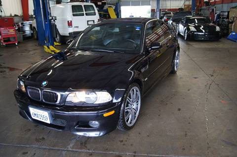 2004 BMW M3 for sale at American Auto Sales in Sacramento CA