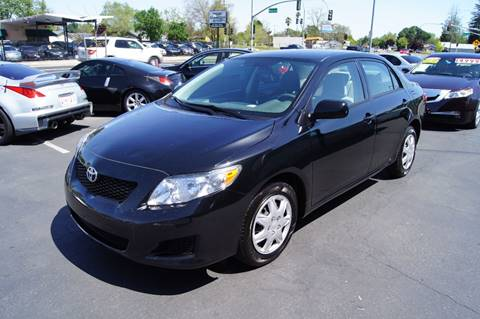 2010 Toyota Corolla for sale at American Auto Sales in Sacramento CA