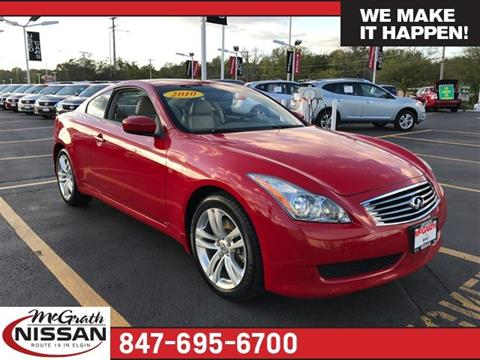 2010 Infiniti G37 Coupe for sale in Elgin, IL