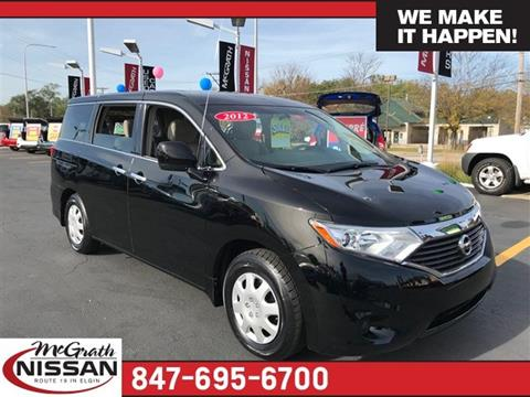 2012 Nissan Quest for sale in Elgin IL