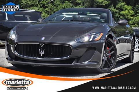 Used Maserati Granturismo >> Used Maserati Granturismo For Sale In Spokane Wa Carsforsale Com