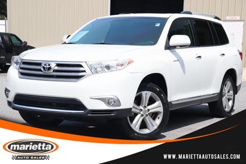 2013 Toyota Highlander For Sale >> 2013 Toyota Highlander For Sale In Marietta Ga