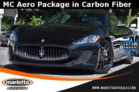 2012 Maserati GranTurismo for sale in Marietta, GA