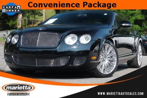 2010 Bentley Continental for sale in Marietta, GA