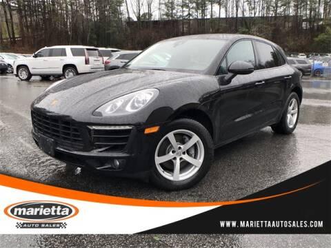 2017 Porsche Macan for sale at Marietta Auto Sales in Marietta GA