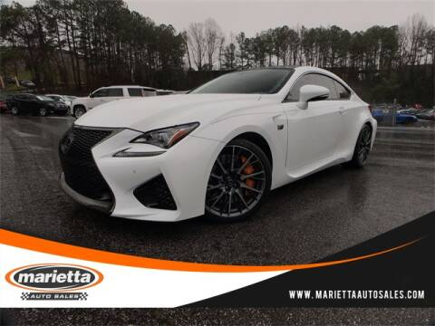 2016 Lexus RC F for sale at Marietta Auto Sales in Marietta GA
