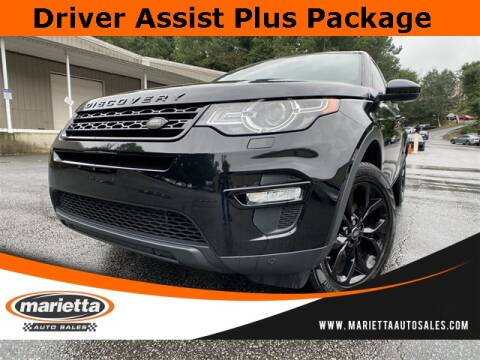 2016 Land Rover Discovery Sport for sale at Marietta Auto Sales in Marietta GA
