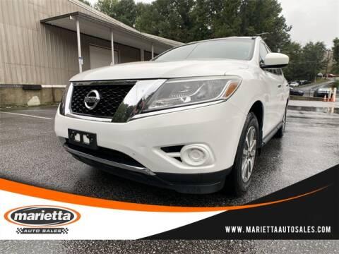 2013 Nissan Pathfinder for sale at Marietta Auto Sales in Marietta GA