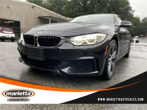 2017 BMW 4 Series for sale at Marietta Auto Sales in Marietta GA