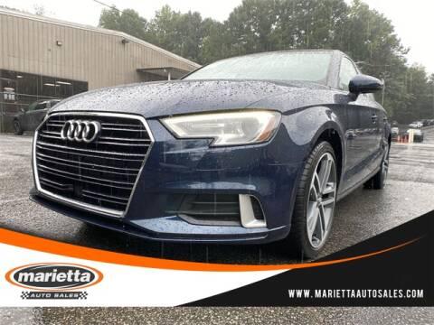 2017 Audi A3 for sale at Marietta Auto Sales in Marietta GA