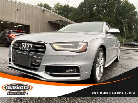 2014 Audi S4 for sale at Marietta Auto Sales in Marietta GA