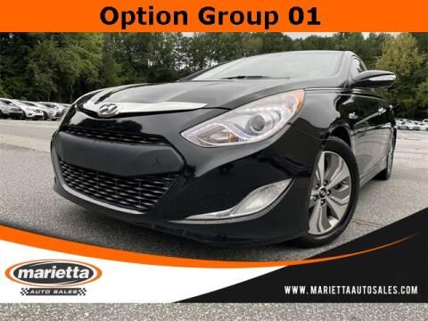 2013 Hyundai Sonata Hybrid for sale at Marietta Auto Sales in Marietta GA