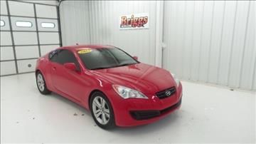 2012 Hyundai Genesis Coupe for sale in Junction City KS
