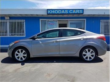2012 Hyundai Elantra for sale at Khodas Cars in Gilroy CA