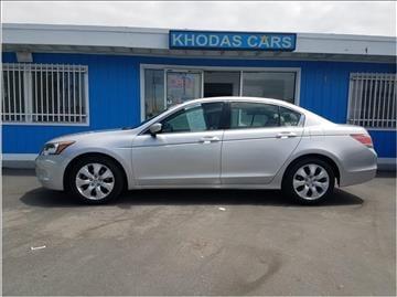 2008 Honda Accord for sale at Khodas Cars in Gilroy CA