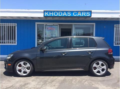 2010 Volkswagen GTI for sale at Khodas Cars in Gilroy CA