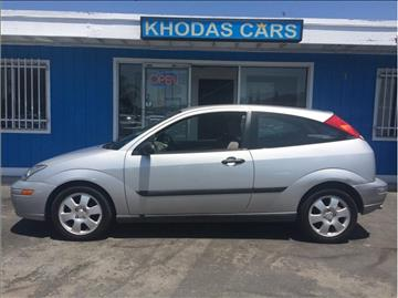 2001 Ford Focus for sale at Khodas Cars in Gilroy CA