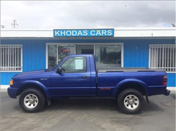 2002 Ford Ranger for sale at Khodas Cars in Gilroy CA