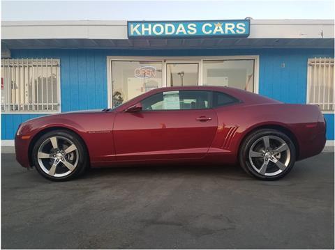 2011 Chevrolet Camaro for sale at Khodas Cars in Gilroy CA