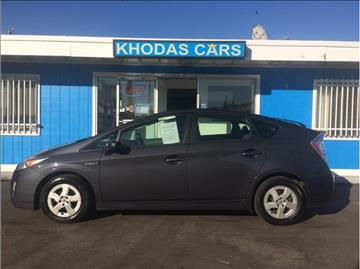 2010 Toyota Prius for sale at Khodas Cars in Gilroy CA