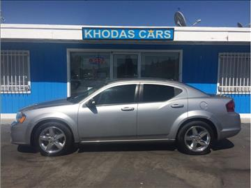 2013 Dodge Avenger for sale at Khodas Cars in Gilroy CA