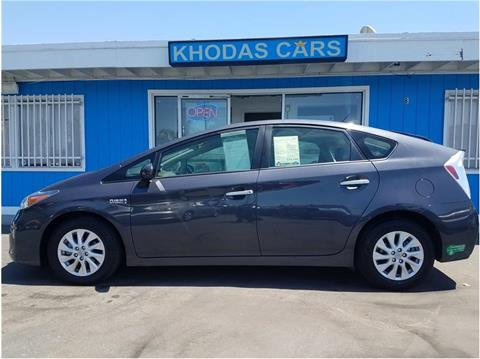 2012 Toyota Prius Plug-in Hybrid for sale in Gilroy, CA