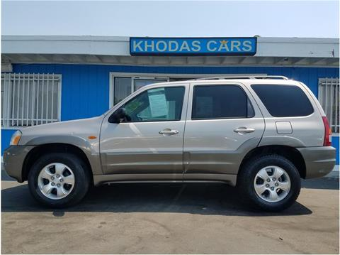 2001 Mazda Tribute for sale at Khodas Cars in Gilroy CA