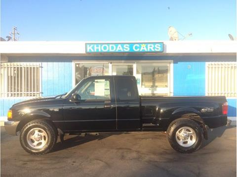 2001 Ford Ranger for sale at Khodas Cars in Gilroy CA