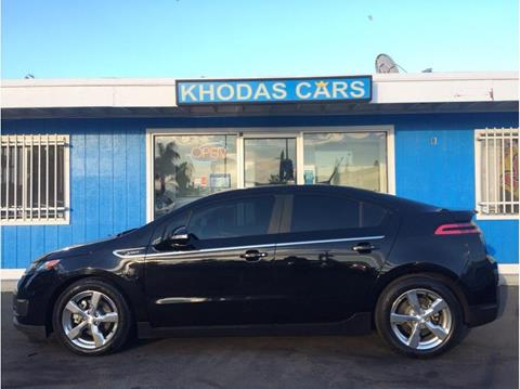 2013 Chevrolet Volt for sale at Khodas Cars in Gilroy CA