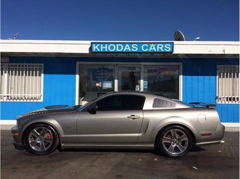 2008 Ford Mustang for sale at Khodas Cars in Gilroy CA