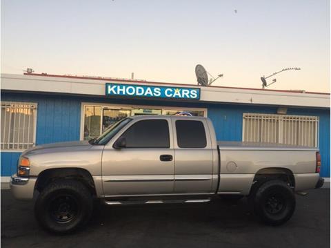 2004 GMC Sierra 1500 for sale at Khodas Cars in Gilroy CA