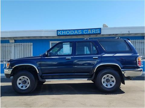 1994 Toyota 4Runner for sale in Gilroy, CA
