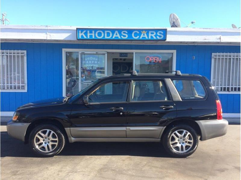 2005 Subaru Forester for sale at Khodas Cars in Gilroy CA
