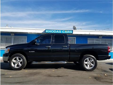 2008 Dodge Ram Pickup 1500 for sale at Khodas Cars in Gilroy CA