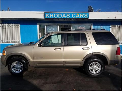 2002 Ford Explorer for sale at Khodas Cars in Gilroy CA