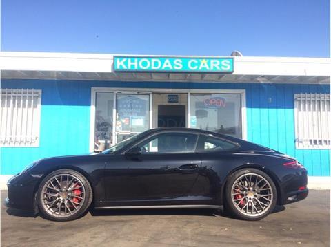 2017 Porsche 911 for sale at Khodas Cars in Gilroy CA