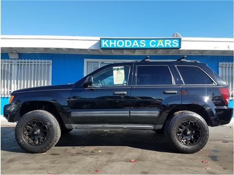 2006 Jeep Grand Cherokee for sale at Khodas Cars in Gilroy CA