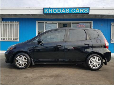 2007 Honda Fit for sale at Khodas Cars in Gilroy CA