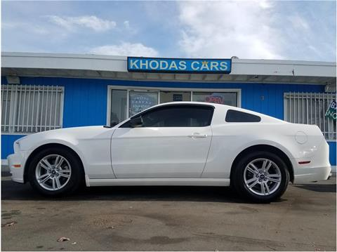 2013 Ford Mustang for sale at Khodas Cars in Gilroy CA