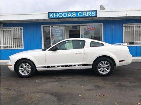 2006 Ford Mustang for sale at Khodas Cars in Gilroy CA