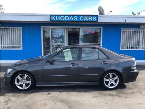 2003 Lexus IS 300 for sale at Khodas Cars in Gilroy CA