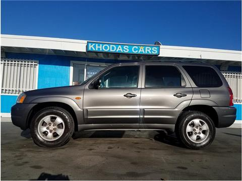 2004 Mazda Tribute for sale at Khodas Cars in Gilroy CA