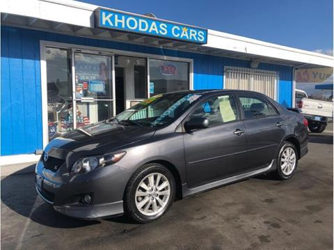 2009 Toyota Corolla for sale at Khodas Cars in Gilroy CA