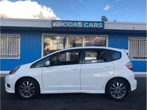 2012 Honda Fit for sale at Khodas Cars in Gilroy CA