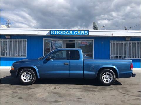 2002 Dodge Dakota for sale at Khodas Cars in Gilroy CA